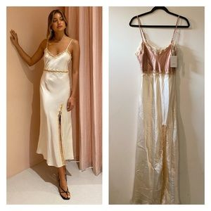 Ginia Naomi slip dress size small NWT!